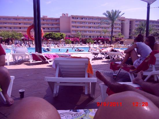 Club Cala Romani: piscina