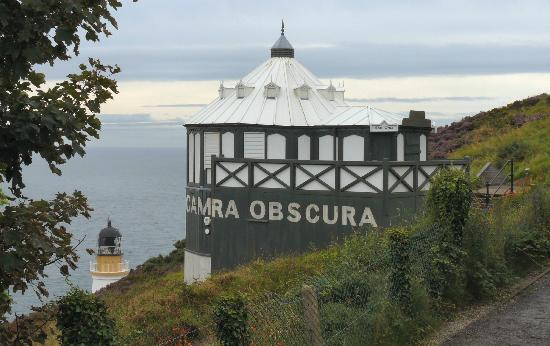 Camera obscura looking out to sea