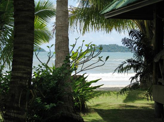 K.B. Resort: View from a Sea View & beach view villa