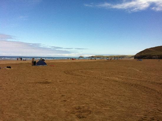 Perranporth Beach: Massive!!