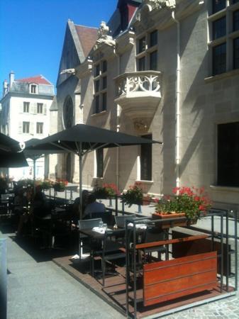 Le Lez'Art: terrasse