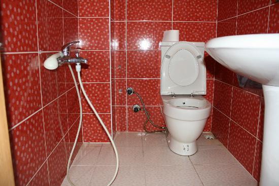 Blue Tuana Hotel: il bagno della stanza 401 