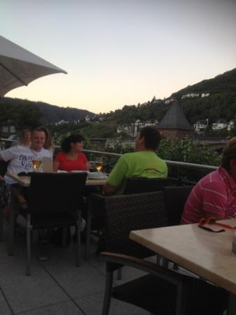 La Baia: terrasse des restaurants