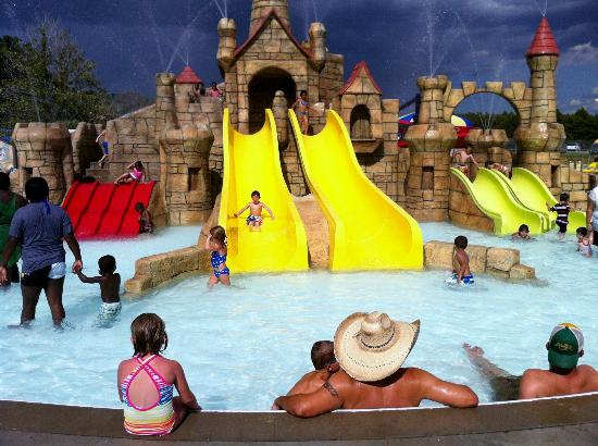 Kid S Castle Picture Of Splash Kingdom Family Waterpark