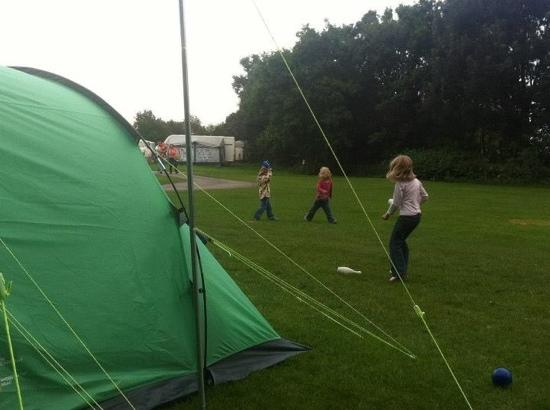 Llandow Caravan and Camping Park : at llandow caravan site
