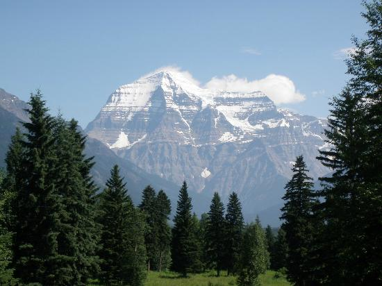 Mount Robson Lodge & Robson Shadows Campground : Mt Robson