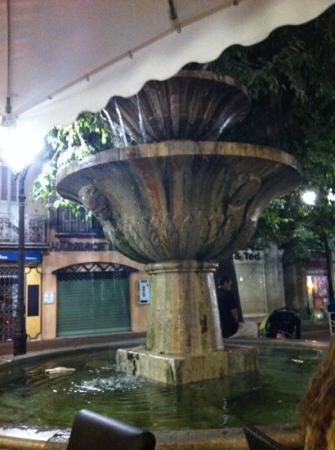 La Grignote: fontaine