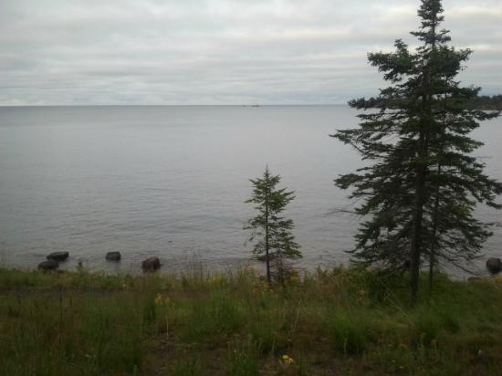 Superior Shores Resort: view from deck