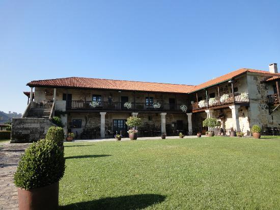 Casal de Arman: Entrada hotel