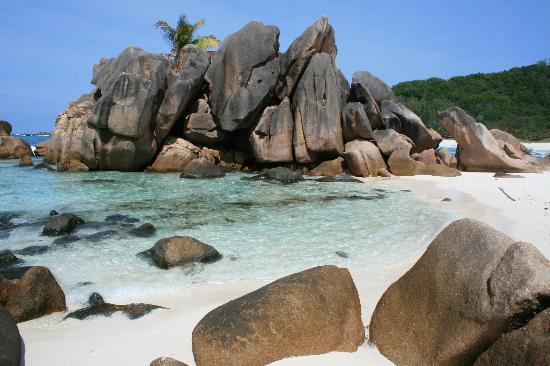 La Digue Island, Seychelles: Anse coco