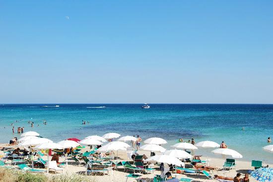 Salve, Italy: la spiaggia