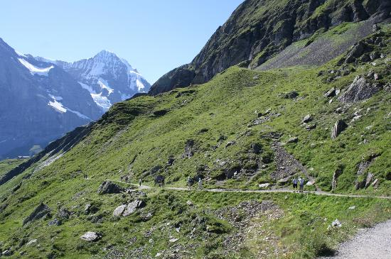 Grindelwald, Suiza: the trail
