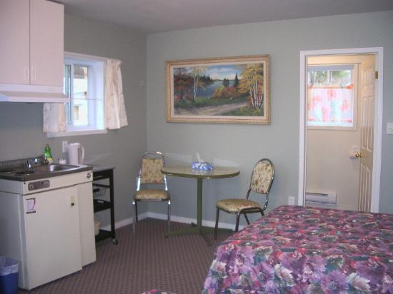 Oakwood Motel: One of the cabin suites