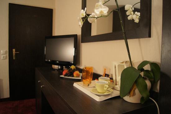 Base1 Hotel Grenzblick: Standardzimmer