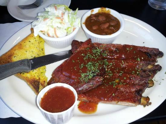 Henry's Famous Barbecue: Pork Ribs