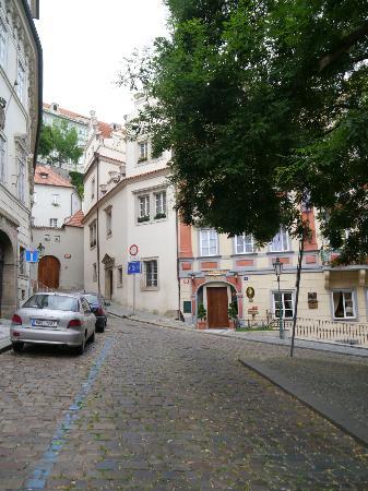 Alchymist Prague Castle Suites: Street & Exterior with Castle in Background