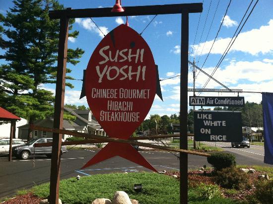 Sushi Yoshi Hibachi Steakhouse : Sign
