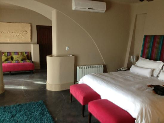 Cavas Wine Lodge: Bedroom area
