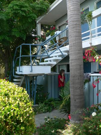 Seaview Hotel: Der Innenhof