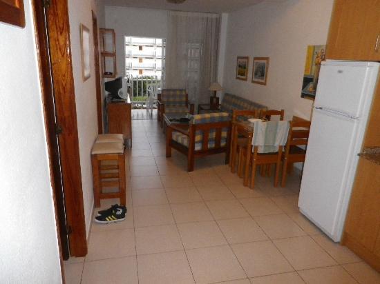 Apartamentos Tenesor: coin salon avec vue terrasse