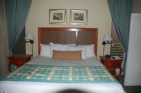Wyndham Ka 'Eo Kai: Very comfortable beds!