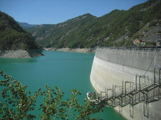 Bagno di Romagna, Italia: diga di ridracoli