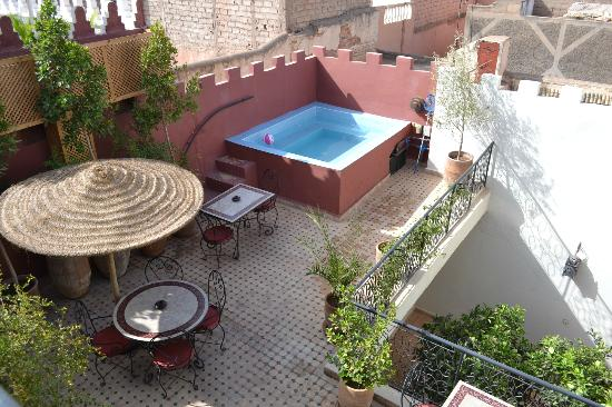 Riad Maud : la terrasse