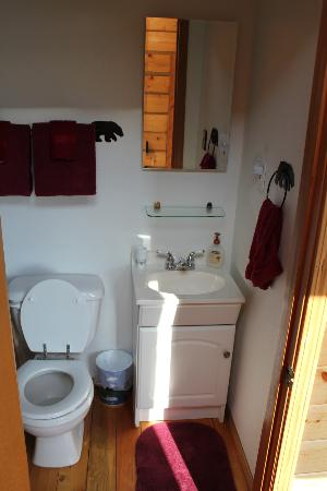 Alaska Adventure Cabins: Bathroom