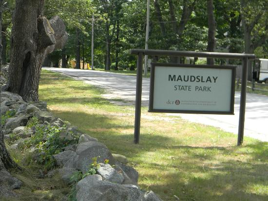Newburyport, MA: Maudslay State Park Entrance