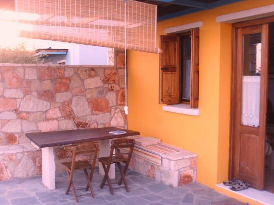 Petroto Villas: Notre location coin terrasse