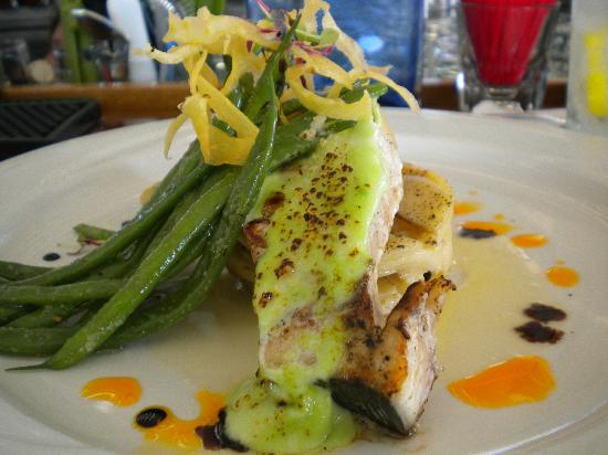 Lobsterville Grill: Grilled Swordfish Special at Lobsterville
