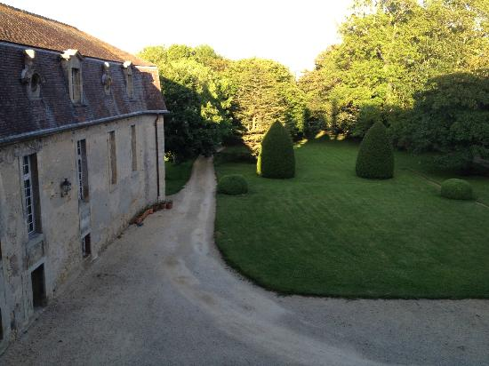 Chateau Francois d'O : view east from room