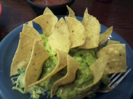 Taco Rico: guacamole dip