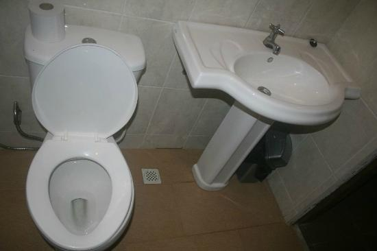 Sepilok B&B: The toilet
