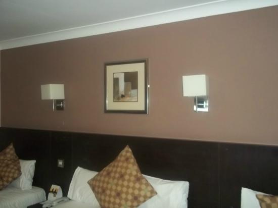 Best Western Gatwick Skylane Hotel: The wall decor