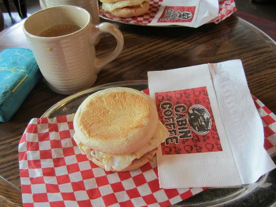Cabin Coffee: great coffee and breakfast