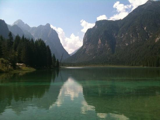 Drau Cycle Route: lago di Dobbiaco