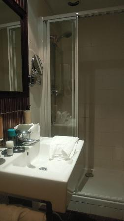 Hôtel Brittany : Baño impecable