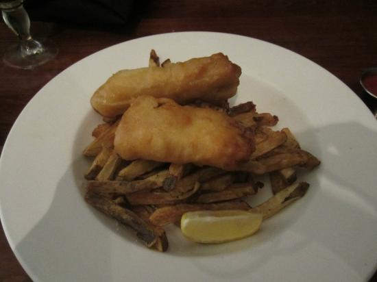 Niche Lounge: Haddock and Chips