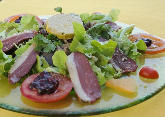 La Table d'Erillac: Salade du terroir