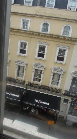 Lancaster Hall Hotel: la vista desde la habitacion