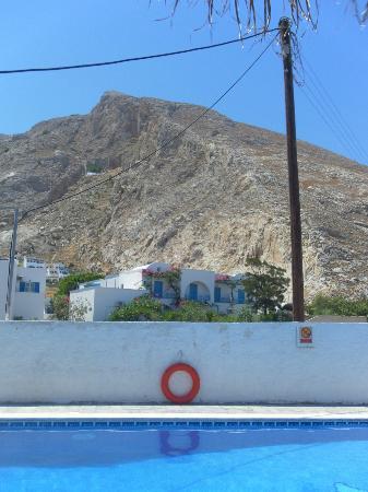 هوتل أندرياس: Utsikten från poolen  
