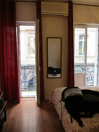 Hotel Albert 1er: The immaculate room (with a view)