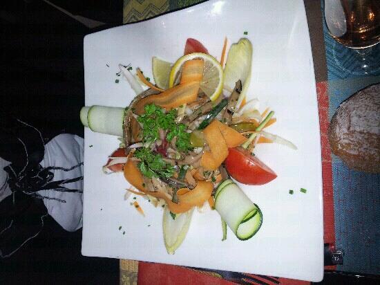 Les Cygnes - Chez Jules : salade croquante