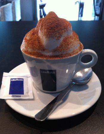 Chiffon Cafe: Cinnamon Capuccino