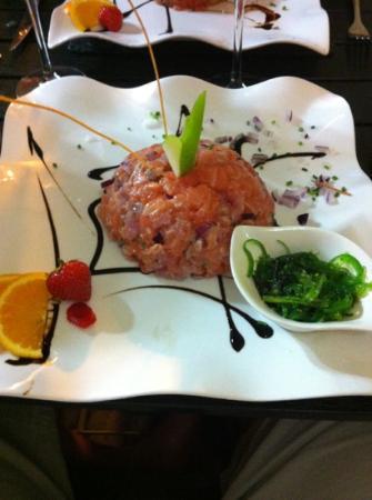La Bodega : tartare de thon/saumon
