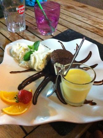 La Bodega : fondant chocolat