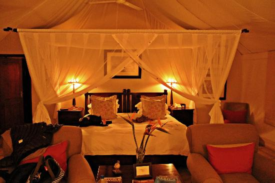 Savanna Private Game Reserve: 'tent'