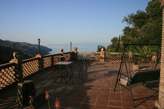 Balcony view Villa Almoezia