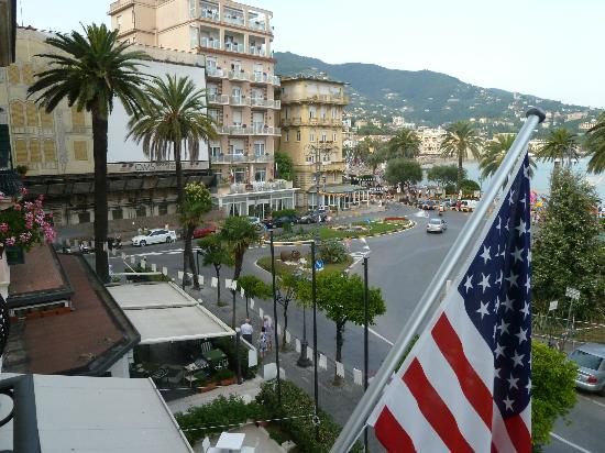 Hotel Astoria: View from balcony of room 203
